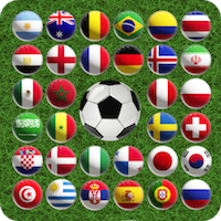 World cup match 3 – Match the countries